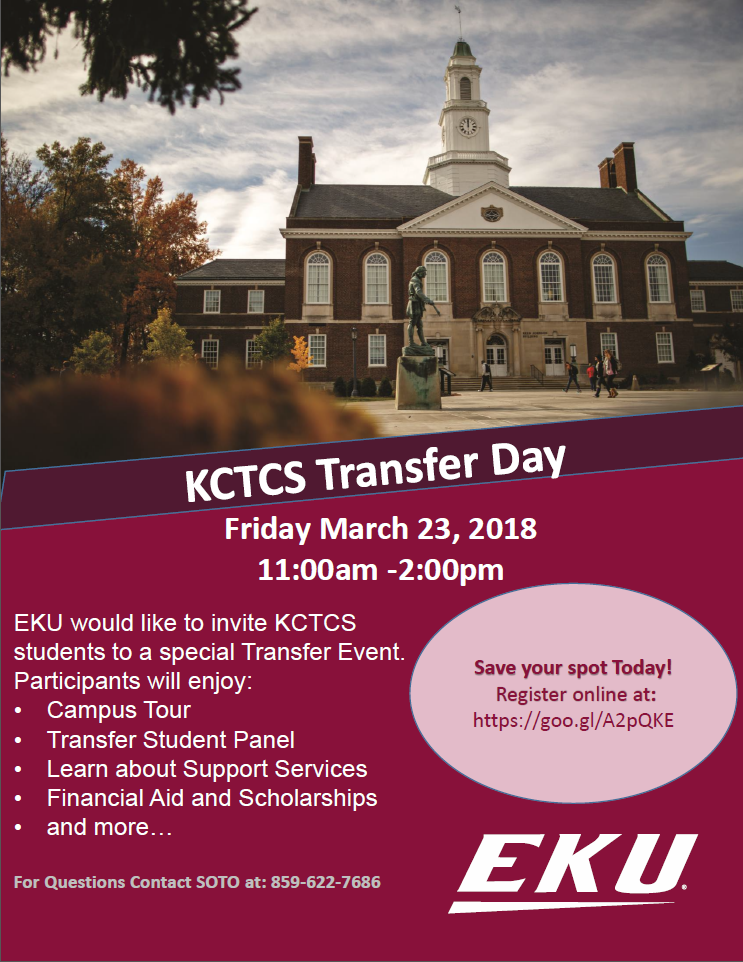 KCTCS Transfer Day