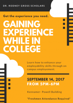 Gaining Experience While In College