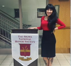 "Alexandra ""Allie"" Fowee Awarded $3,000 National Tau Sigma Scholarship"