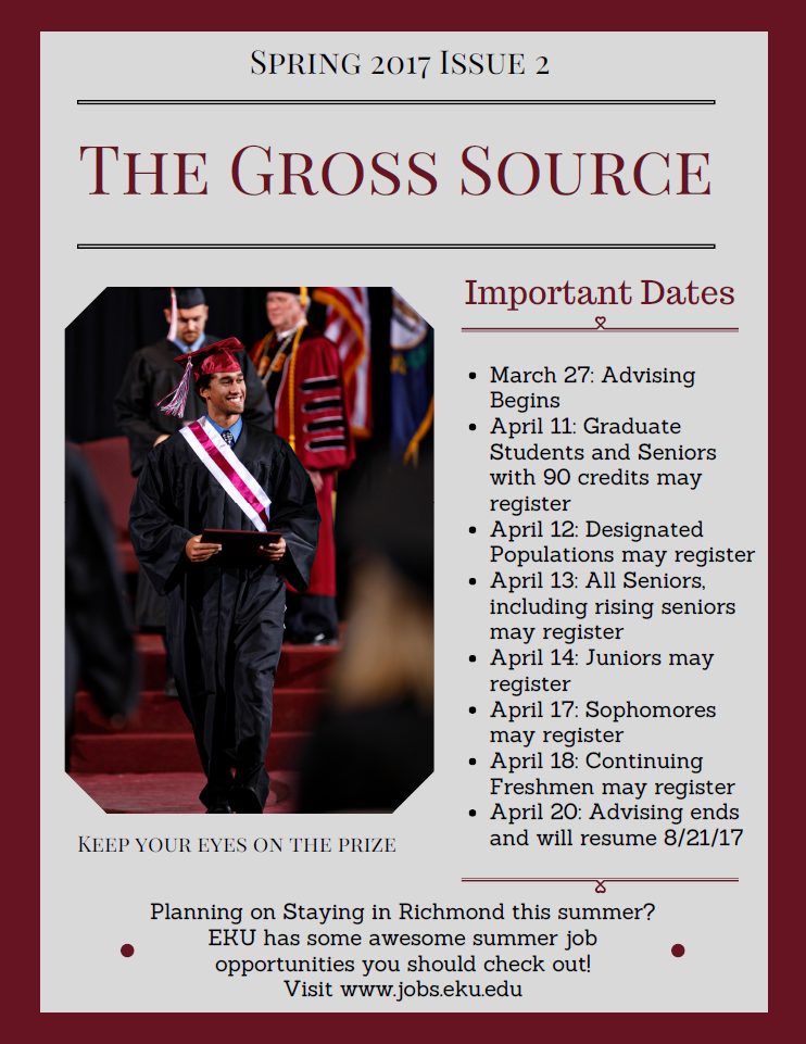 The Gross Source Spring 2017 Issue 2